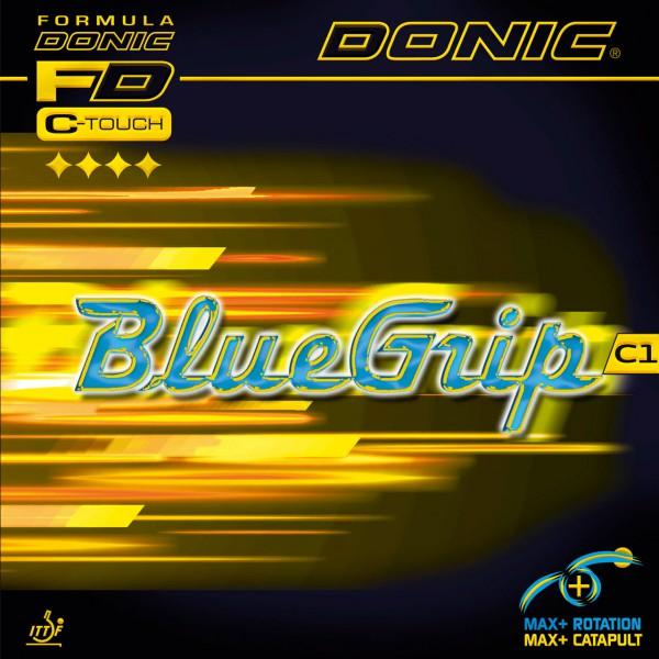Tischtennis Belag DONIC BlueGrip C1 Cover