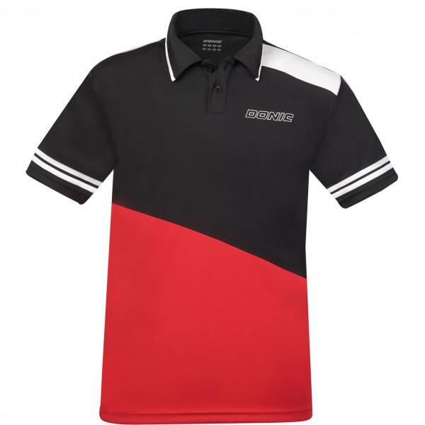 DONIC Poloshirt Primeflex rot Brust