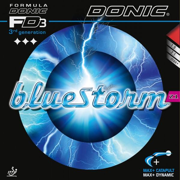 Tischtennis Belag DONIC Bluestorm Z1 Cover