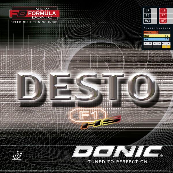 Belag DONIC Desto F1 HS