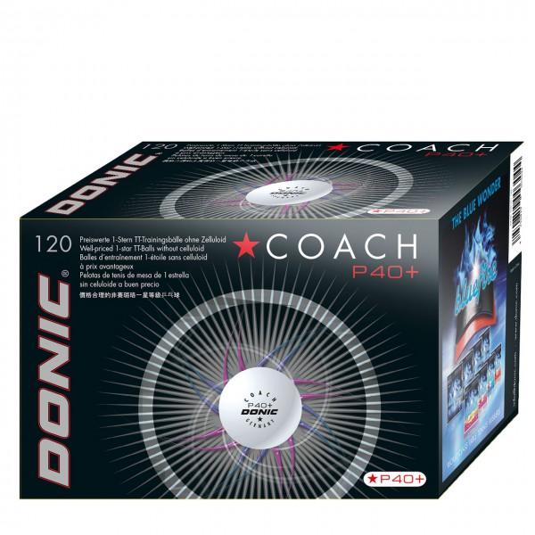 DONIC Coach P40+ * 120er Karton