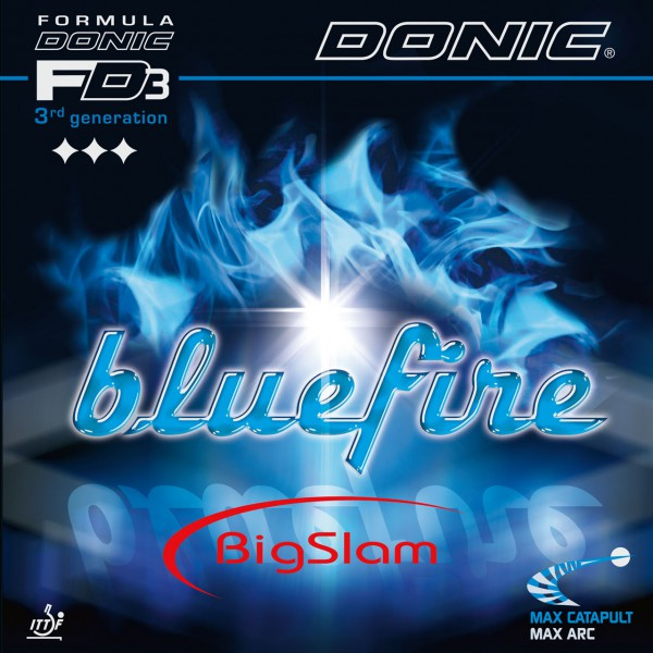 Tischtennis Belag DONIC Bluefire Big Slam Cover