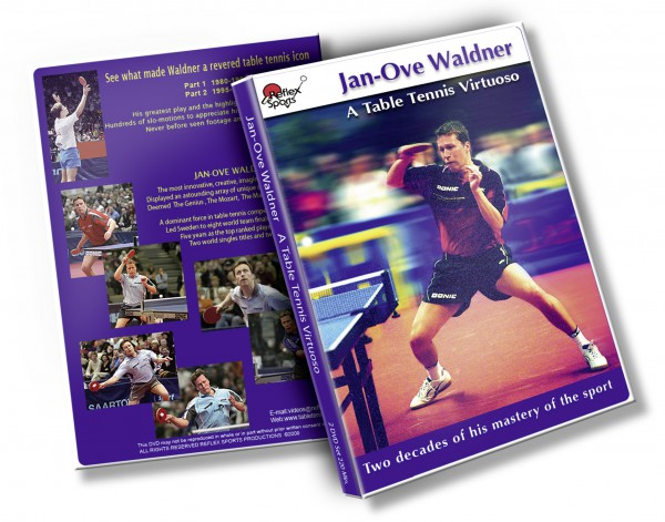 DVD Jan-Ove Waldner 2er Set engl
