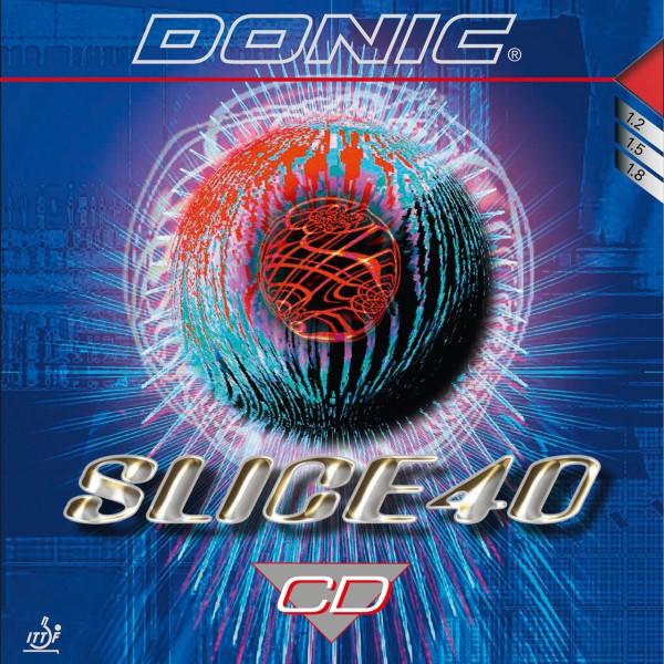 Tischtennis Belag DONIC Slice 40 CD Cover