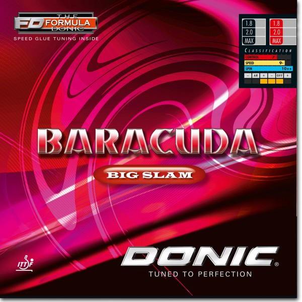 table tennis rubber DONIC Baracuda