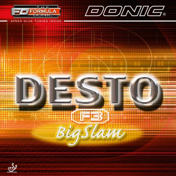 Tischtennis Belag DONIC Desto F3 BigSlam
