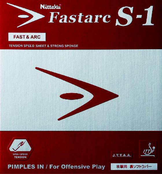 Tischtennis Belag Nittaku Fastarc S-1 Cover