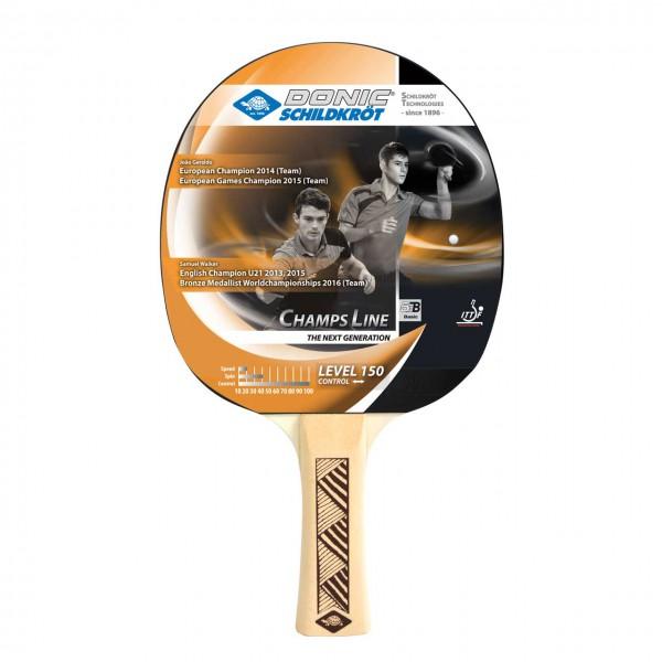 Hobby Tischtennis Schläger DONIC Champs 150