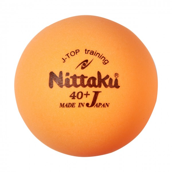 Tischtennis Trainingsball Nittaku J-Top 40+ orange