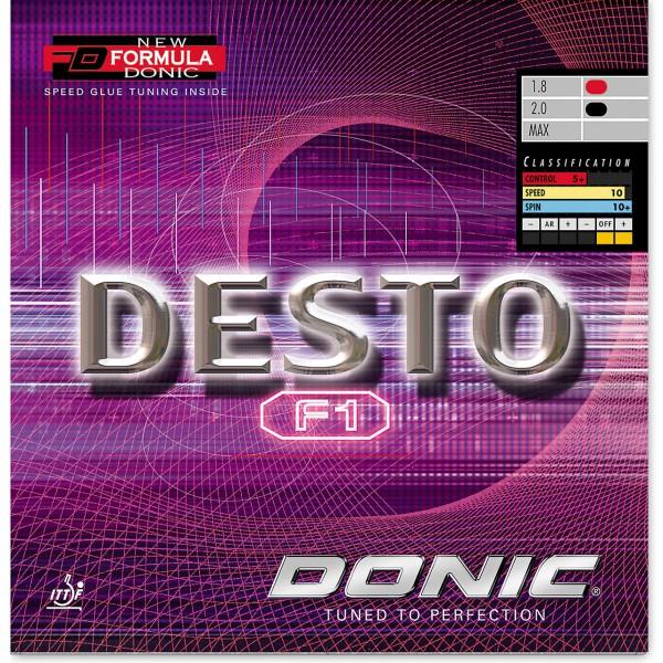 Tischtennis Belag DONIC Desto F1 Cover