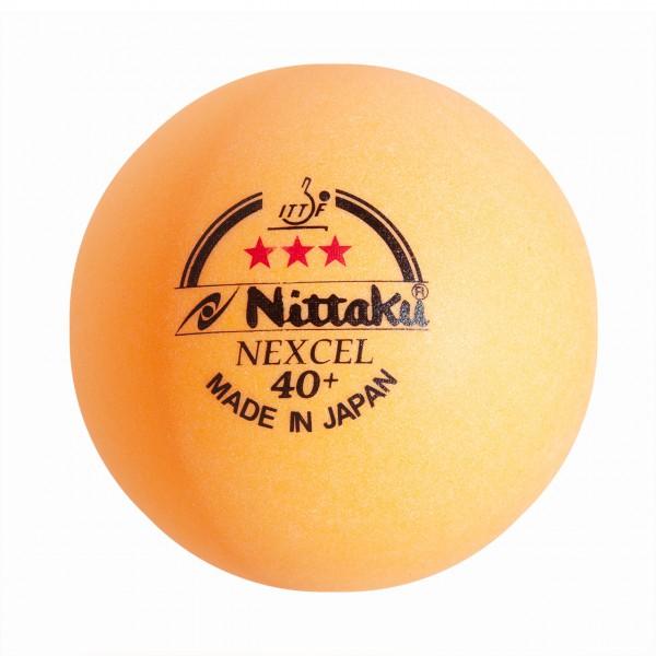 Tischtennis Ball Nittaku Nexcel 40+ *** orange