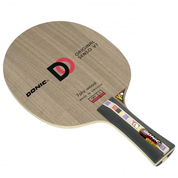 Tischtennis Holz DONIC Original Senso V1