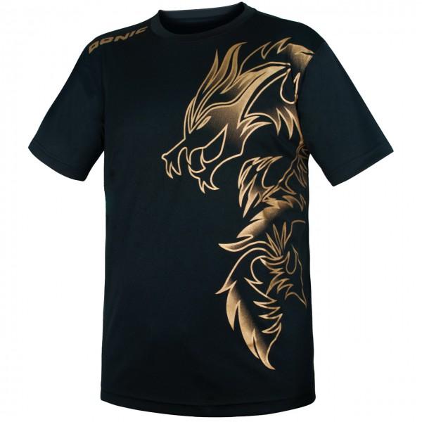 Tischtennis DONIC T-Shirt Dragon Brust