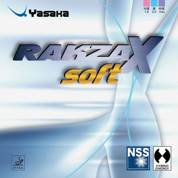 Tischtennis Belag Yasaka Rakza X Soft Cover