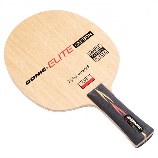 Tischtennis Holz DONIC Elite Carbon diagonal