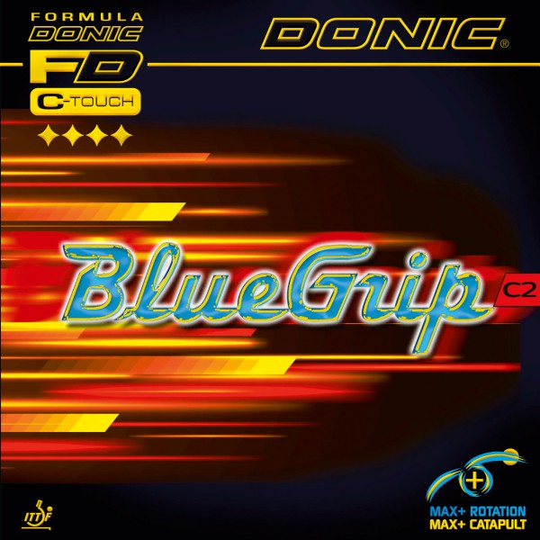 Tischtennis Belag DONIC BlueGrip C2 Cover