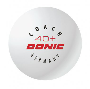 """DONIC """"Coach 40+ Cell-Free"""""""