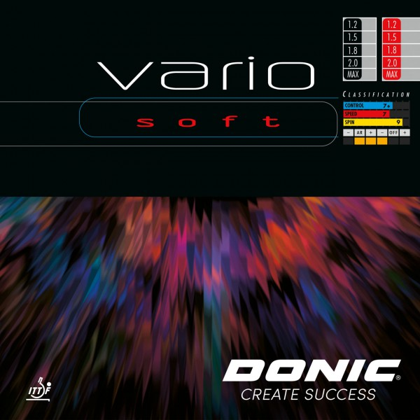 Tischtennis Belag DONIC Vario Soft Cover
