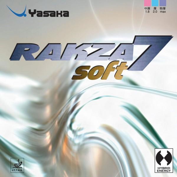 Tischtennis Belag Yasaka Rakza 7 Soft Cover