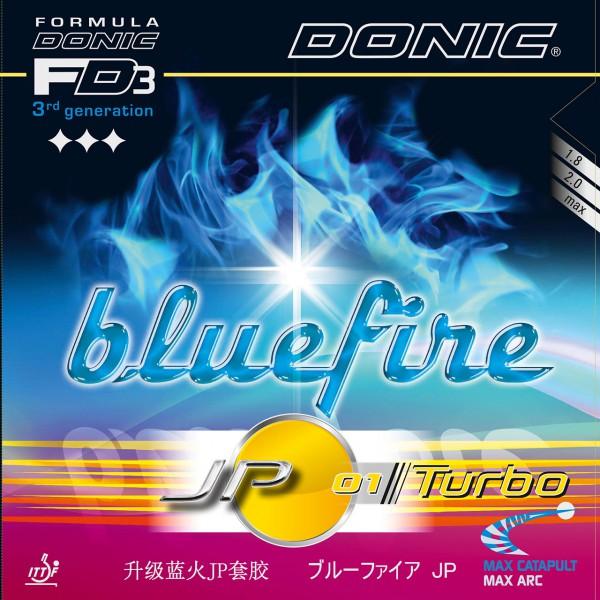 Tischtennis Belag DONIC Bluefire JP01 Turbo Cover