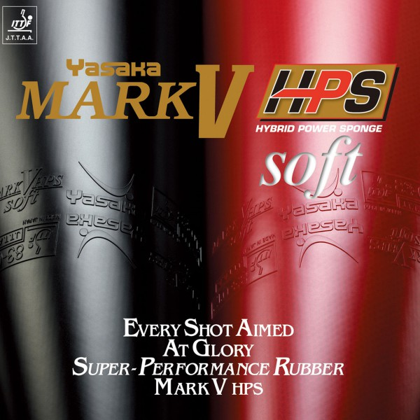Tischtennis Belag Yasaka Mark V HPS Soft Cover
