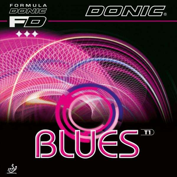 Tischtennis Belag DONIC Blues T1 Cover