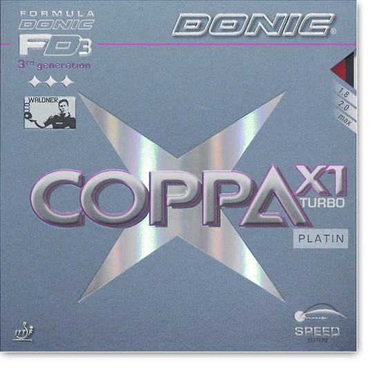 """DONIC """"Coppa X1 Turbo (Platin)"""""""