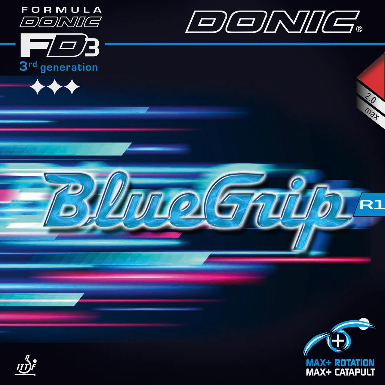 Donic Bluefire M1 Turbo Tischtennisbelag