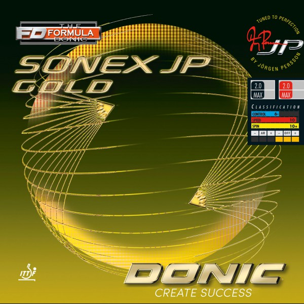 Tischtennis Belag DONIC Sonex JP Gold