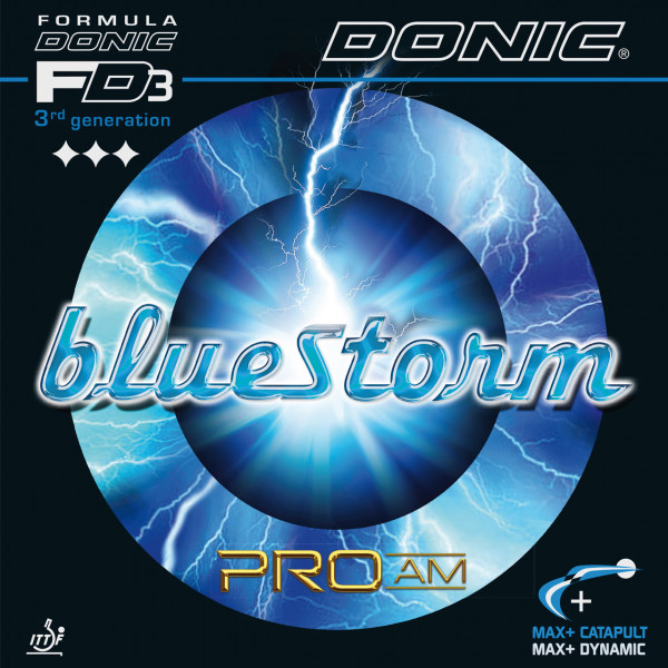 Tischtennis Belag DONIC Bluestorm Pro AM