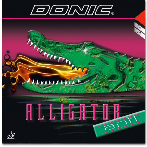 Tischtennis Belag DONIC Alligator Anti Cover