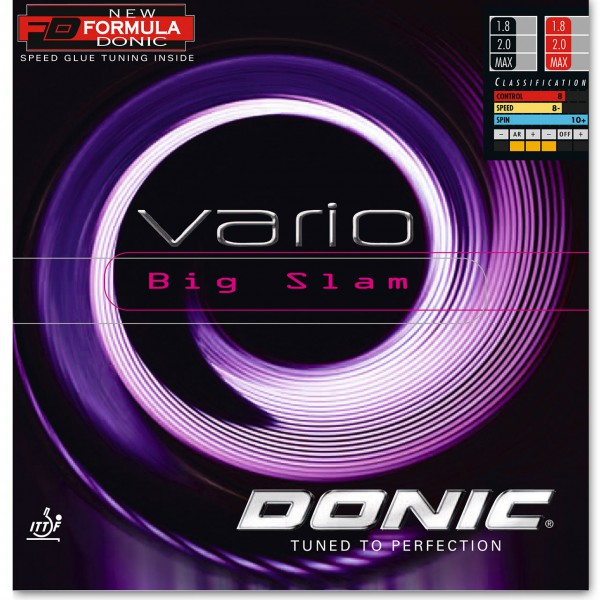 Tischtennis Belag DONIC Vario Big Slam Cover