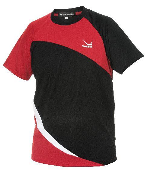 Tischtennis T-Shirt Yasaka Oblick rot