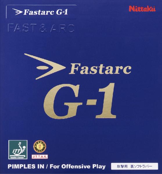 Tischtennis Belag Nittaku Fastarc G-1 Cover
