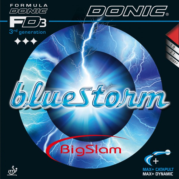 Tischtennis Belag DONIC Bluestorm Big Slam Cover