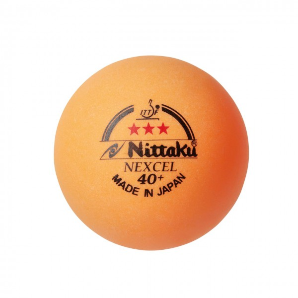 Tischtennis Ball Nittaku Nexcel 40+ *** orange