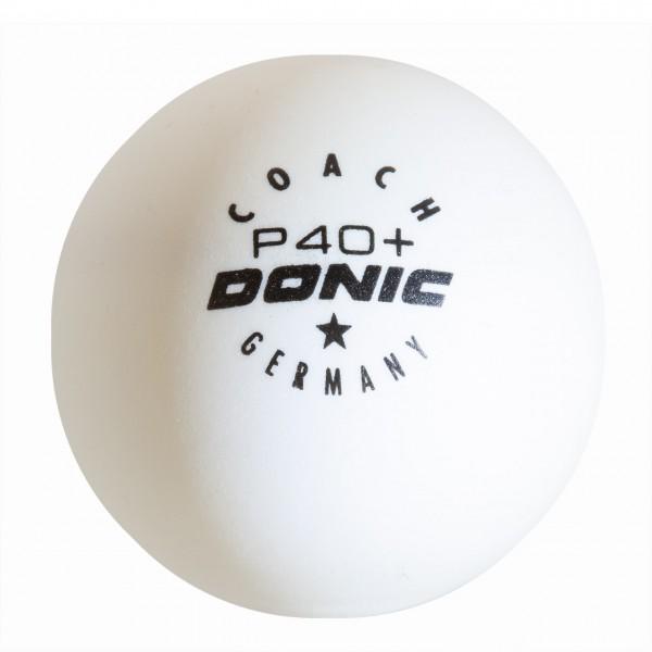 Tischtennis Trainingsball DONIC Coach P40+ *