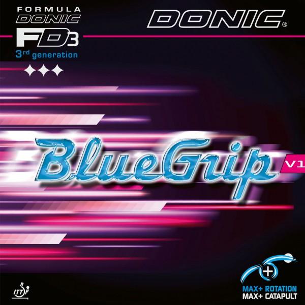 Tischtennis Belag DONIC BlueGrip V1 Cover