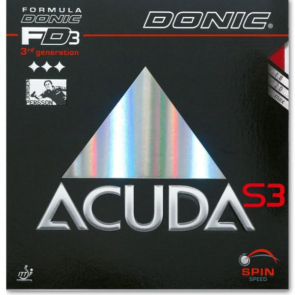 Tischtennis Belag DONIC Acuda S3 Cover