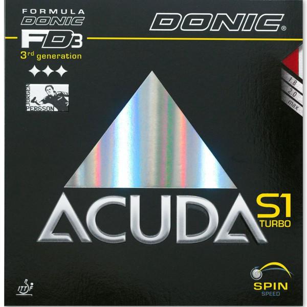 Tischtennis Belag DONIC Acuda S1 Turbo Cover