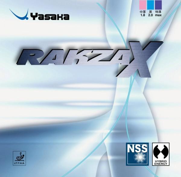 Tischtennis Belag Yasaka Rakza X Cover