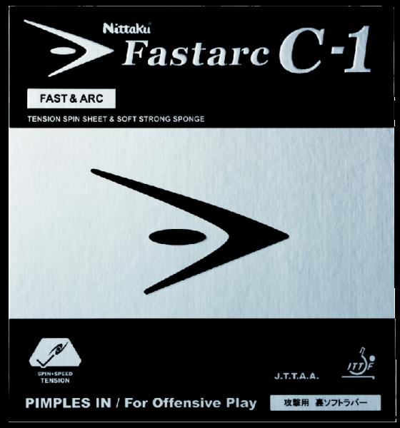 Tischtennis Belag Nittaku Fastarc C-1 Cover