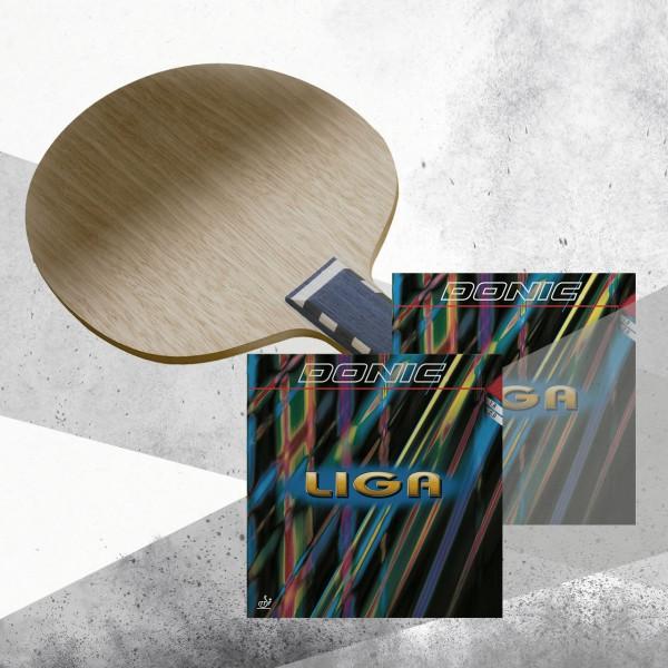 Tischtennis Komplettschläger DONIC Waldner Exclusive AR / Liga